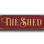 The Shed Sign 1