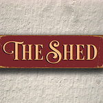 The Shed Sign 3