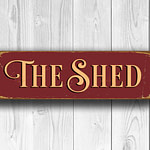 The Shed Sign 4
