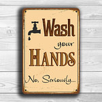 Wash Your Hands Sign 1