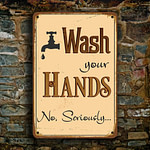 Wash Your Hands Sign 4