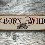 Born To be Wild Sign 2