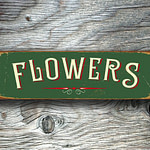 Flowers Sign 3