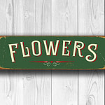Flowers Sign 4
