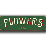 Flowers Sign 6