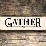Gather Sign 5