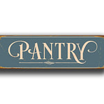 Pantry Sign 1