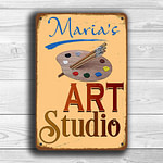 Art Studio Sign 1