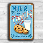 Milk and Cookies Sign 2