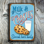 Milk and Cookies Sign 4