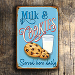 Milk and Cookies Sign 5