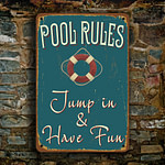 Pool Rules Sign 2