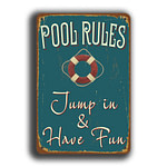 Pool Rules Sign 5
