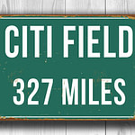 Citi Field Miles Sign