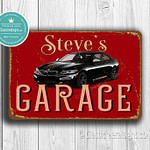 Personalized BMW Garage Sign