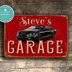 Classic Metal Signs Bently Garage Sign 2