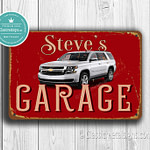 Classic Metal Signs Chevrolet Garage Sign 1