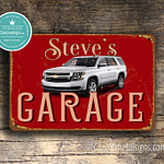 Classic Metal Signs Chevrolet Garage Sign 2