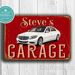Classic Metal Signs Mercecdes Sign 1