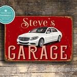 Classic Metal Signs Mercecdes Sign 2