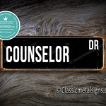 Counselor Street Sign Gift