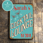 custom cocktail lounge sign