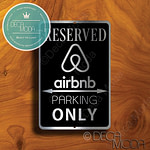 Airbnb Parking Only Signs