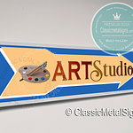 Art Studio Signs