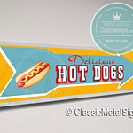 Hot Dogs Signs