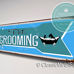 Pet Grooming Directional Sign