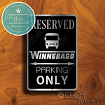 Winnebago Parking Only Signs