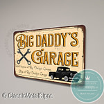 Big Daddy's Garage Sign
