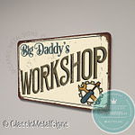 Big Daddy's Workshop Signs