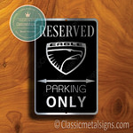 Eagle Parking Only Signs