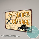 G Dog's Garage Sign
