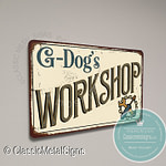 G-Dog's Workshop Sign