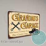 Grandad's Garage Sign