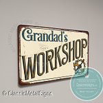 Grandad's Workshop Sign