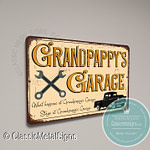 Grandpappy's Garage Sign