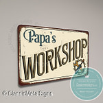 Papa's Workshop Signs