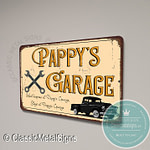 Pappy's Garage Sign