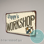 Pappy's Workshop Signs