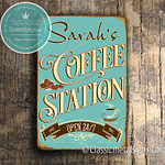Coffee Station Signs