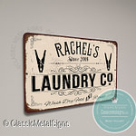 Custom Laundry Signs