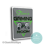 Gaming Room Sign