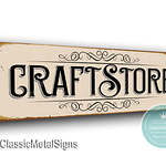 Craft Store Sign