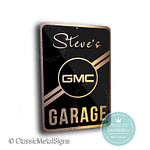 Custom GMC Garage Sign