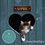Personalized Cat Name Sign