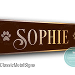 Custom Cat Name Signs