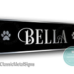 Custom Cat Name Plaque